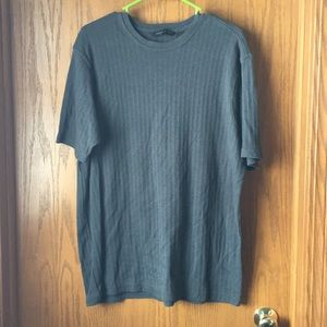 Axist dark gray t shirt ribbed